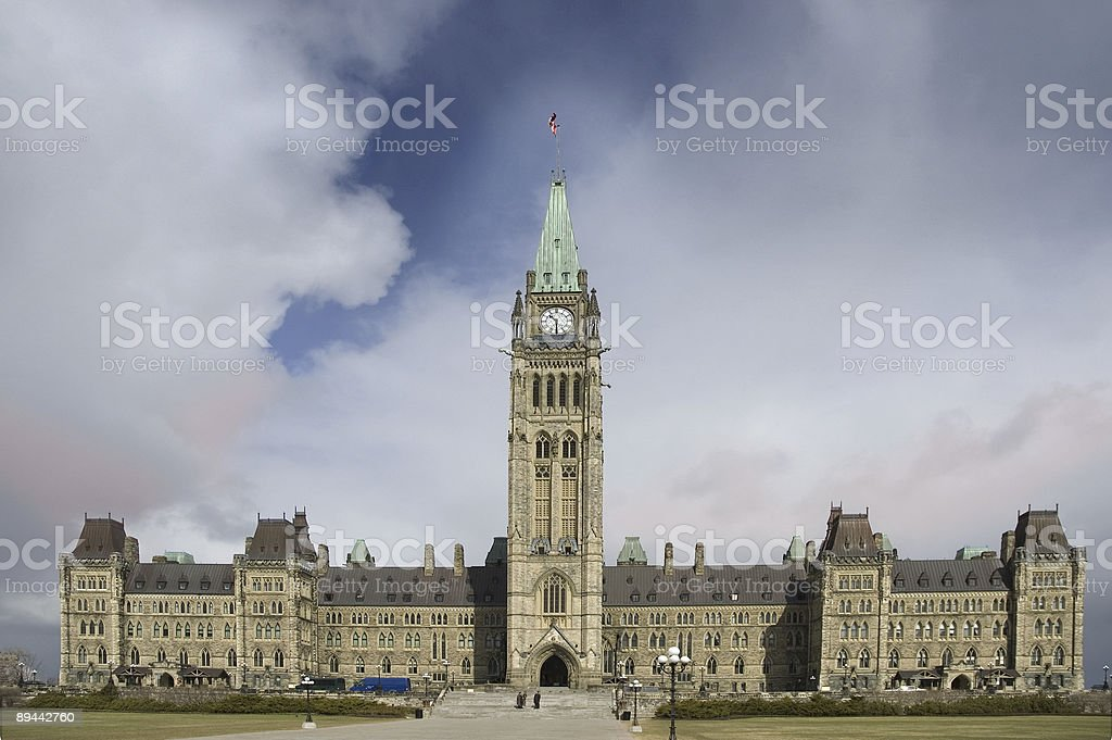 Parlamento canadese foto stock royalty-free