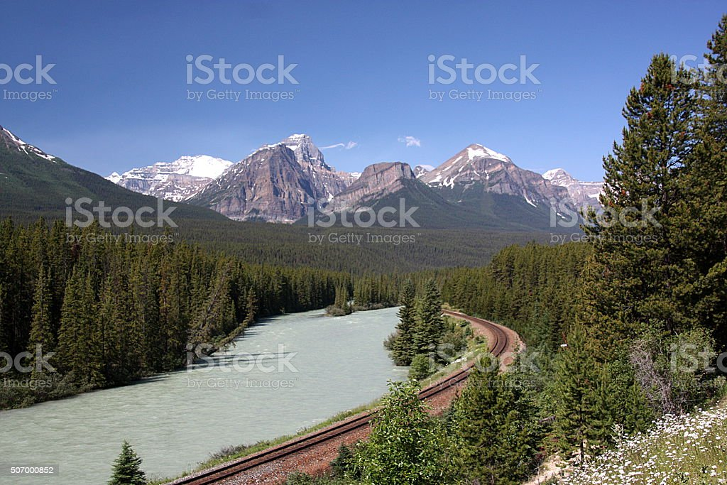 Canadian Rockies By Rail Lac Louise Canada Stock Photo More