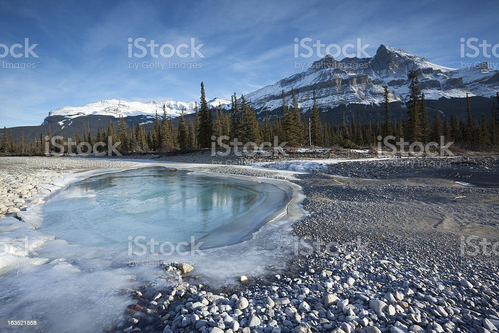 Canadian Rockies stock photo