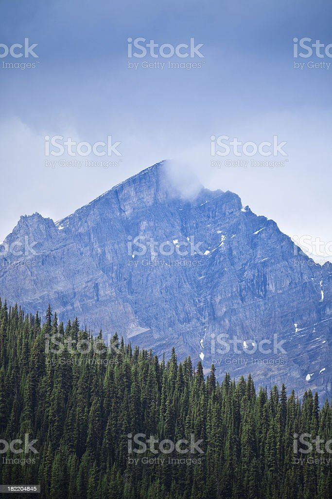 Canadian Rocky Mountain Close-Up royalty-free stock photo