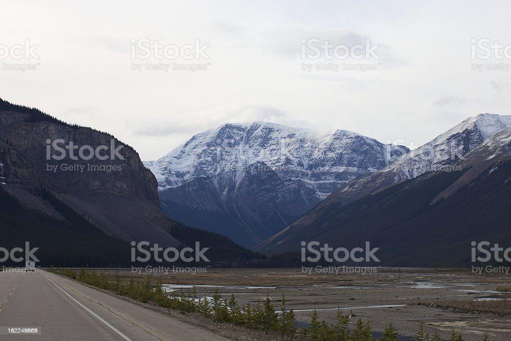 Canadian Rocky's royalty-free stock photo