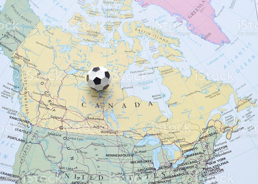 Canadian Soccer stock photo