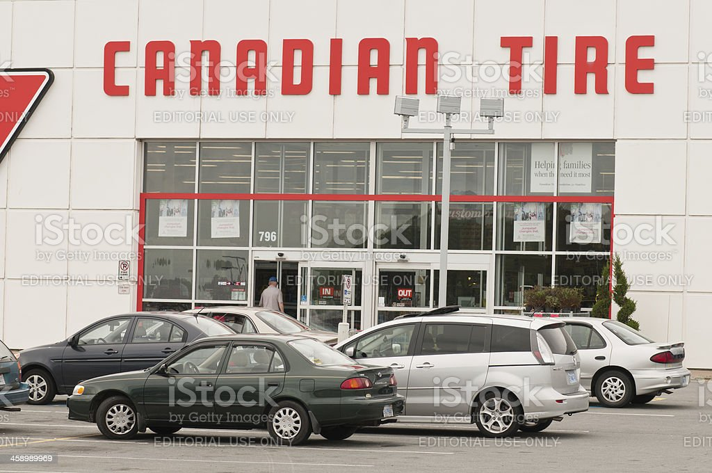 Canadian Tire Stock Photo & More Pictures of Brand Name | iStock
