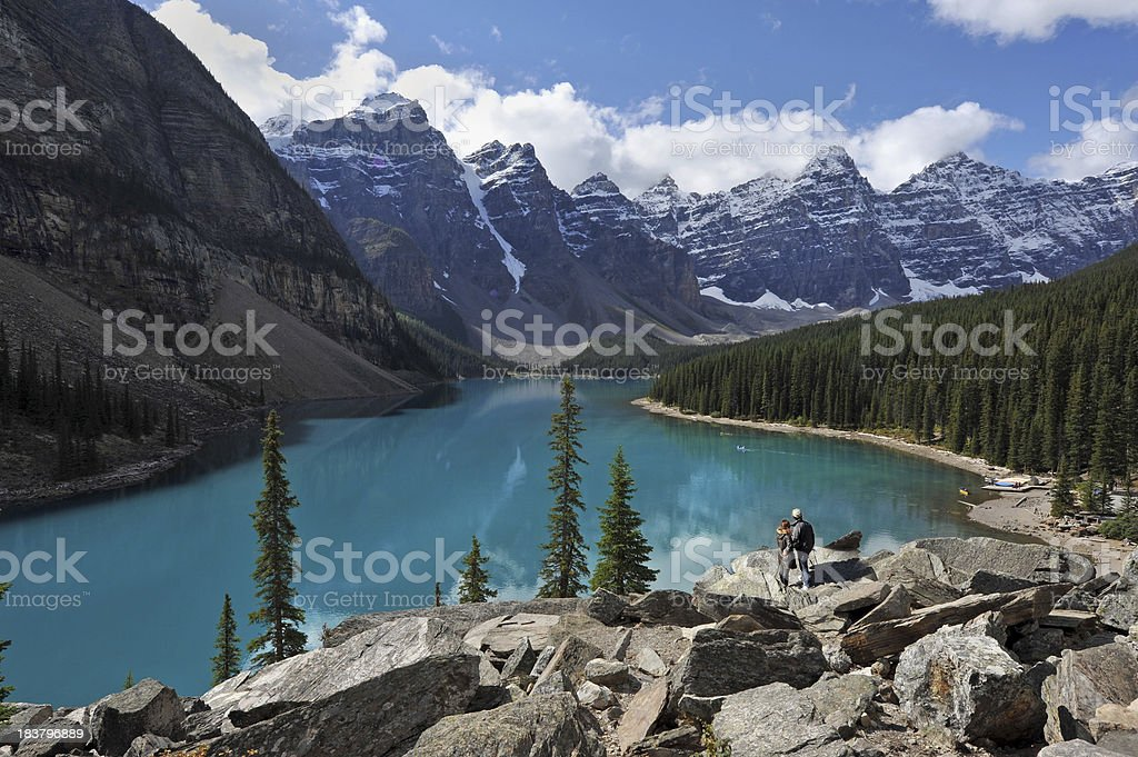 Canadian view stock photo