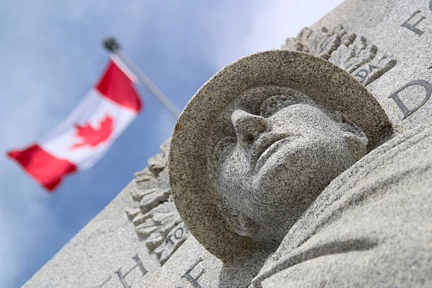 canadian war monument - war memorial stock pictures, royalty-free photos & images