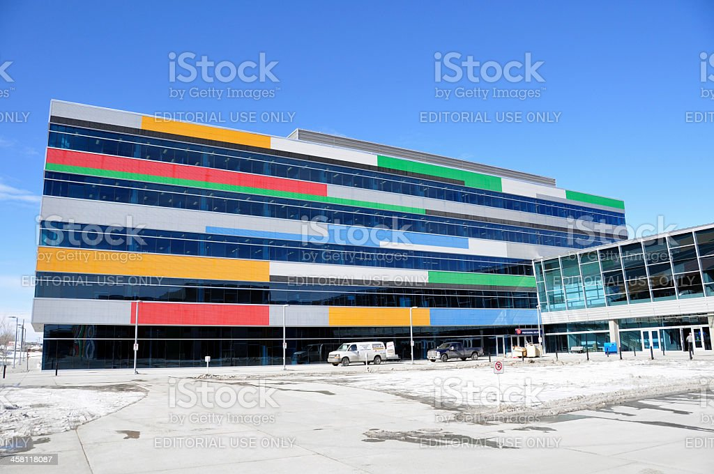 Canadian winter olympic sport headquarters royalty-free stock photo