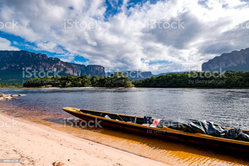 Canaima and its Landscapes stock photo