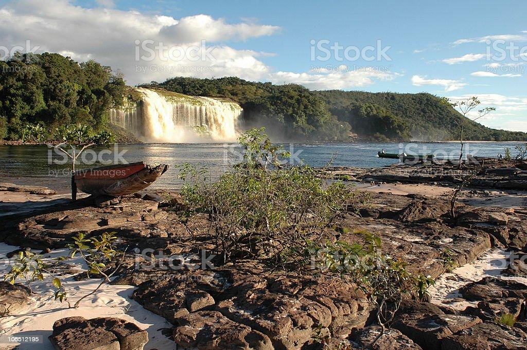 Canaima national park stock photo