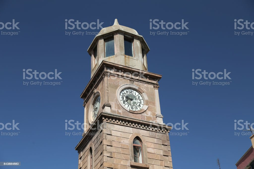 Canakkale Clock Tower stock photo