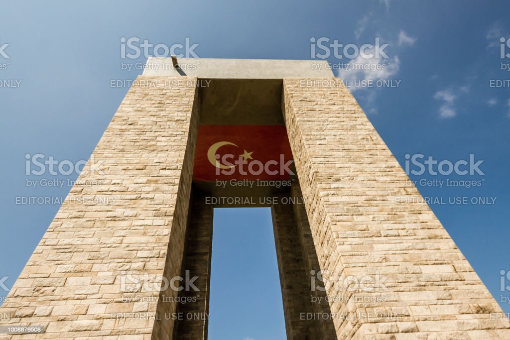 Commémoratif Canakkale Martyrs de la bataille de Gallipoli - Photo