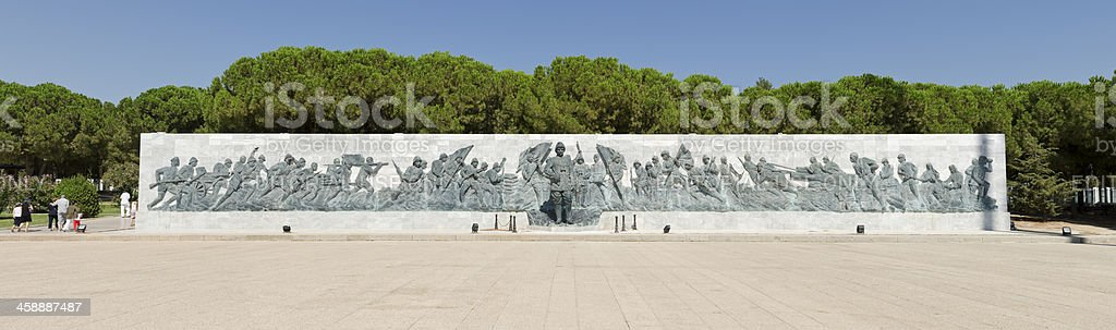 Canakkale Martyrs' Memorial stock photo