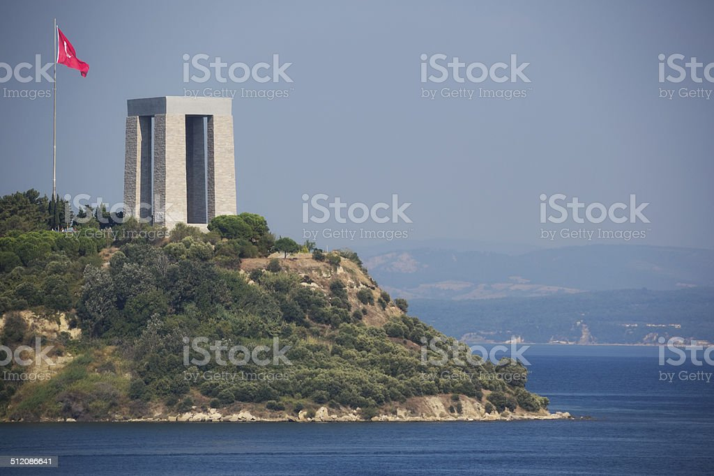 Canakkale Martyr's Memorial stock photo