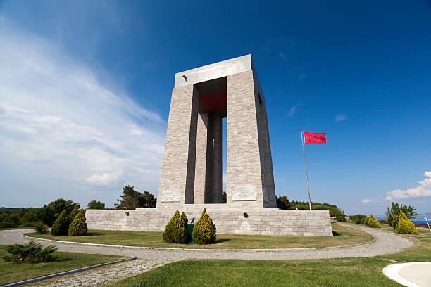 Canakkale, Türkei Märtyrer-Gedenkstätte – Foto