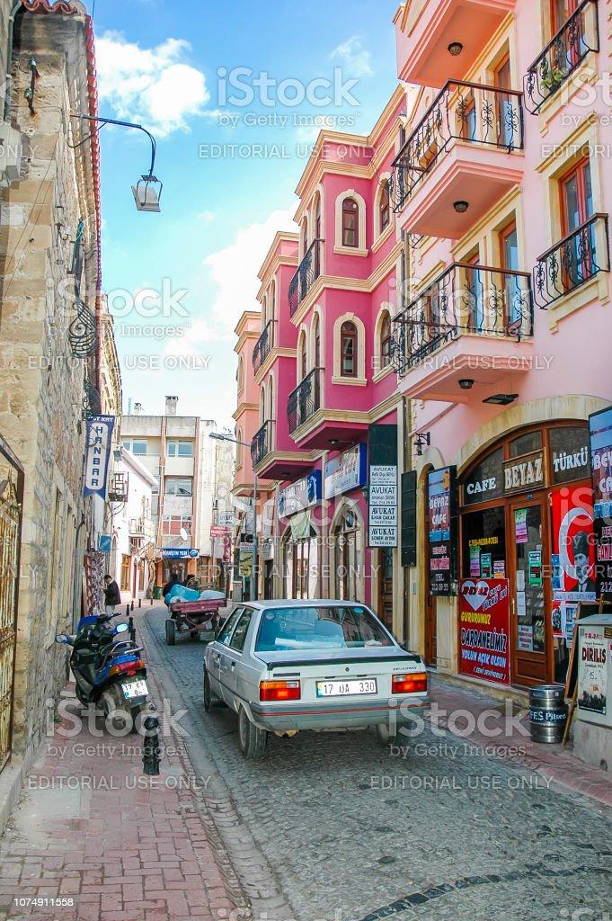 Rues de la ville de Canakkale, Turquie - Photo