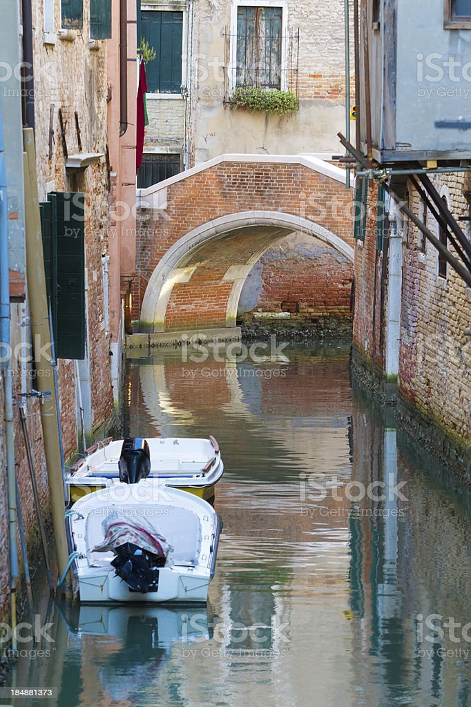 Canal at Venice royalty-free stock photo