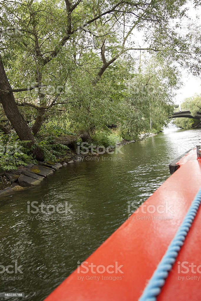 Canal Cruise, View From Tour Boat, Stockholm, Sweden royalty-free stock photo