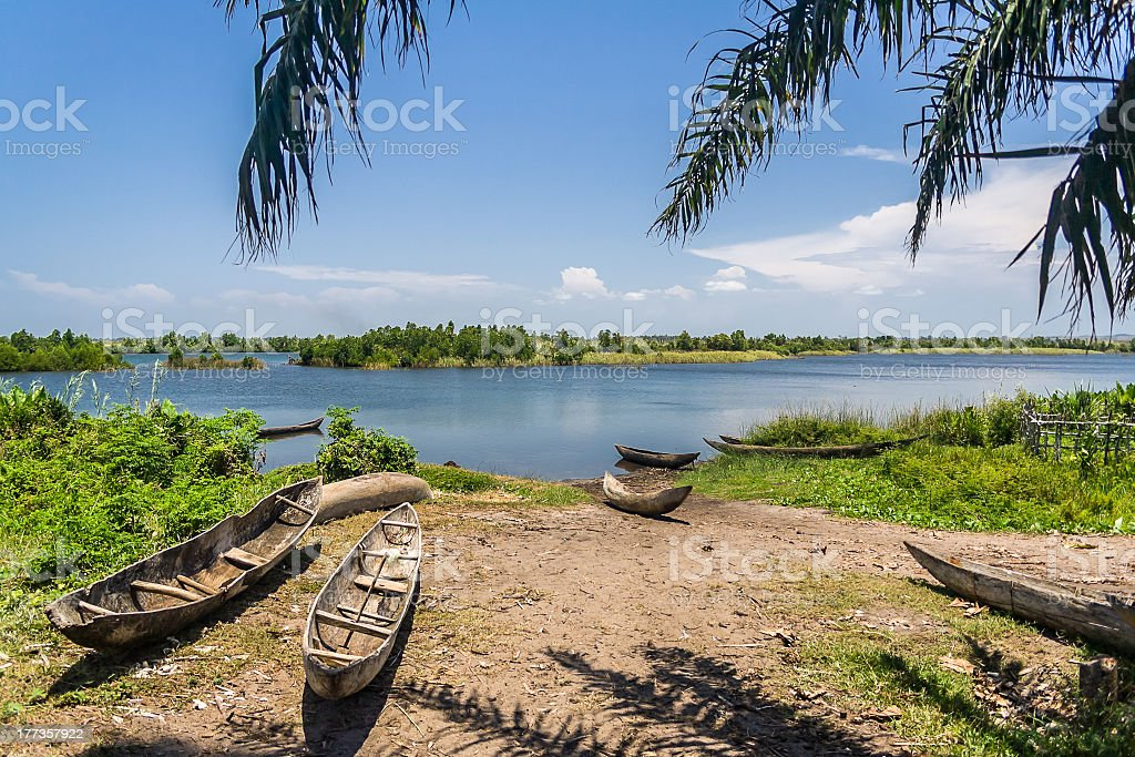 Canal des Pangalanes royalty-free stock photo
