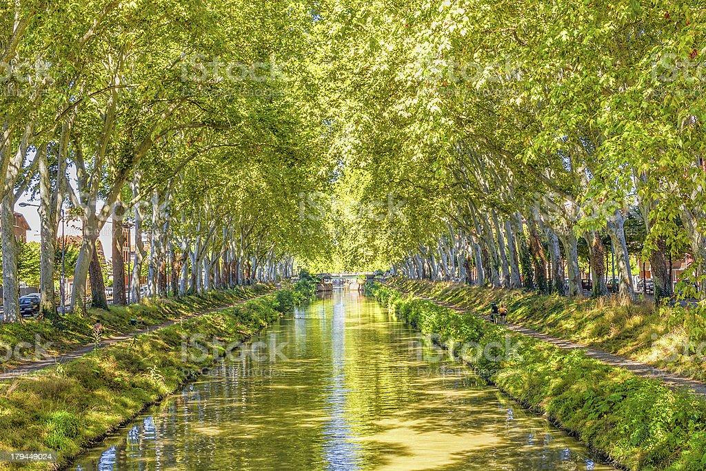 Canal du Midi, Frankreich – Foto