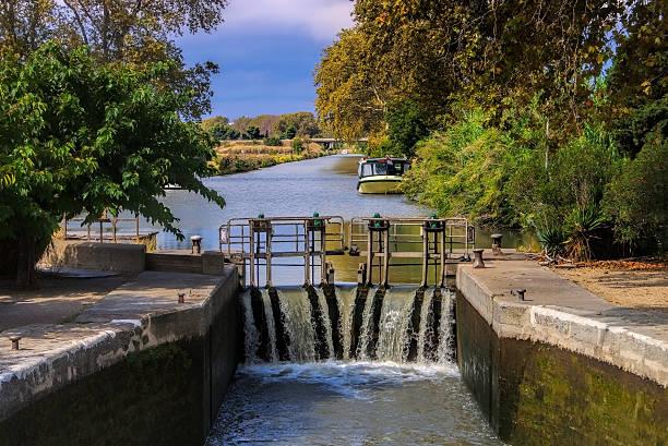 Canal du Midi water lock – Foto