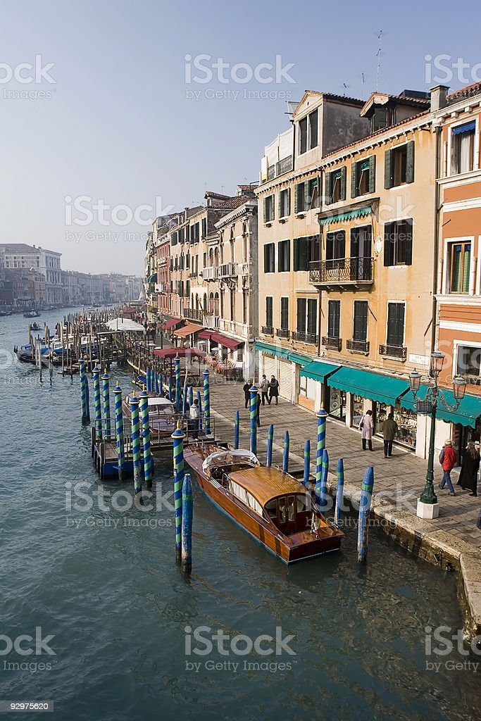 Canal Grande in Venice royalty-free stock photo