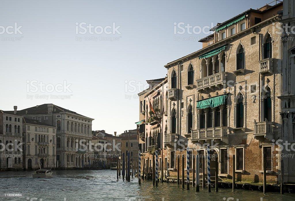 Canal Grande stock photo