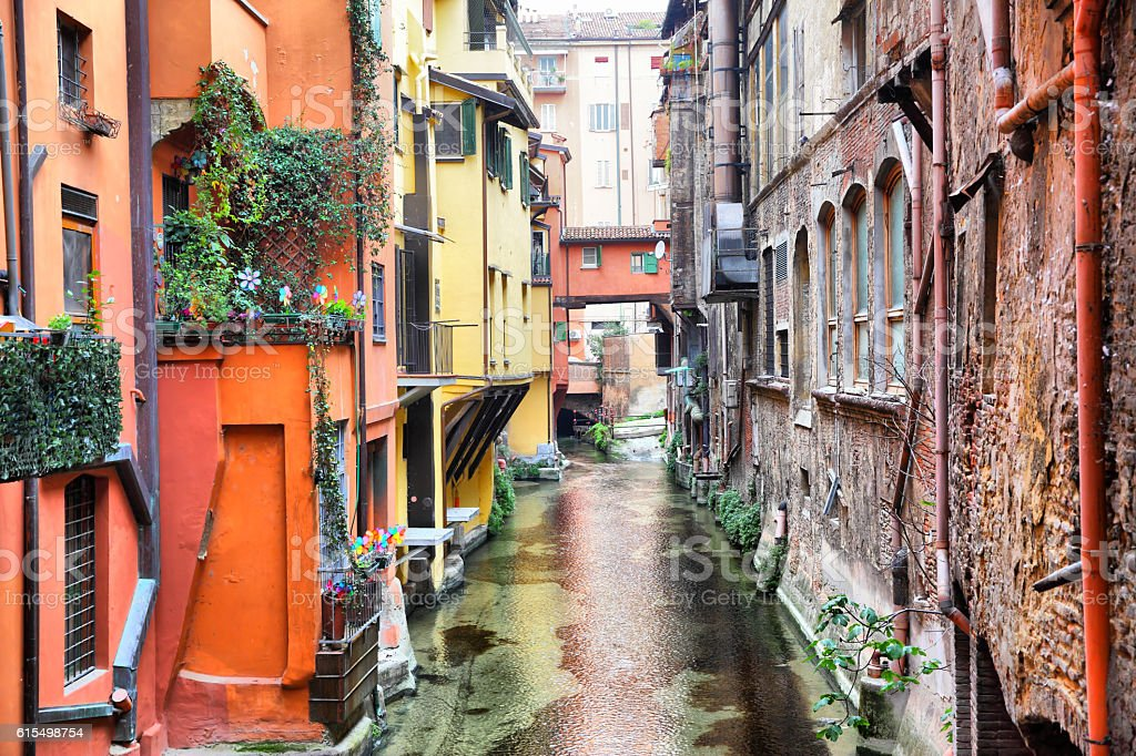 Kanal in Bologna – Foto