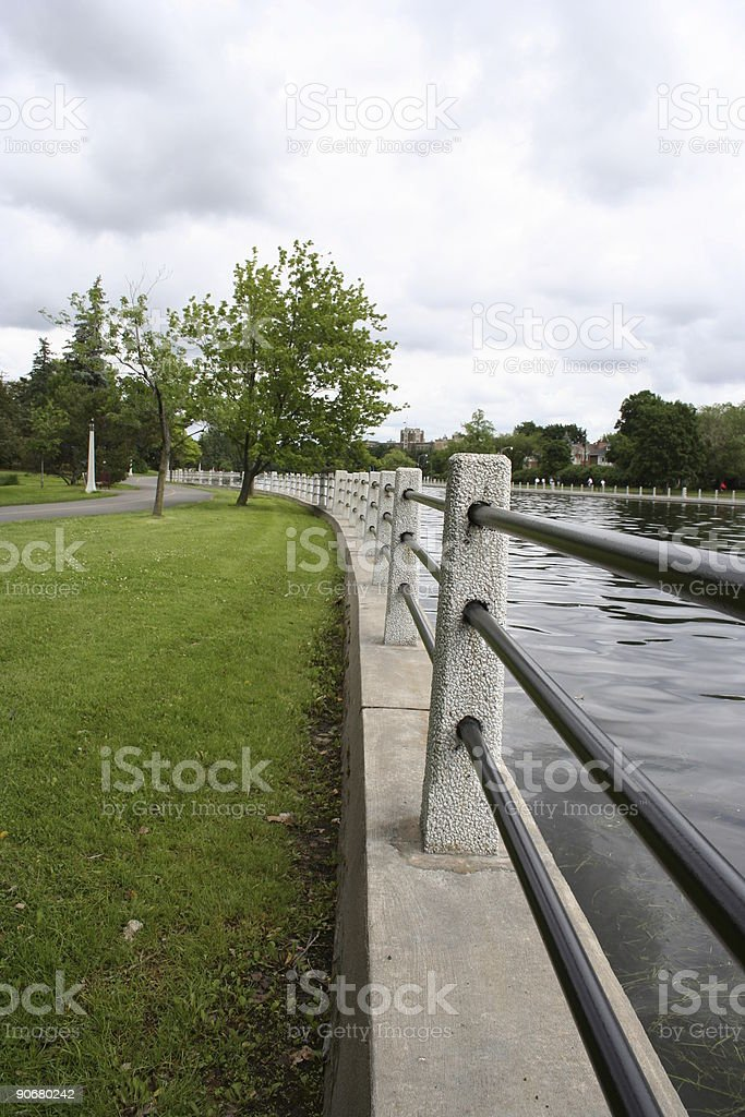Canal in Ottawa royalty-free stock photo