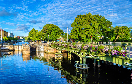 Canal In The Historic Centre Of Gothenburg Sweden Stock Photo - Download Image Now
