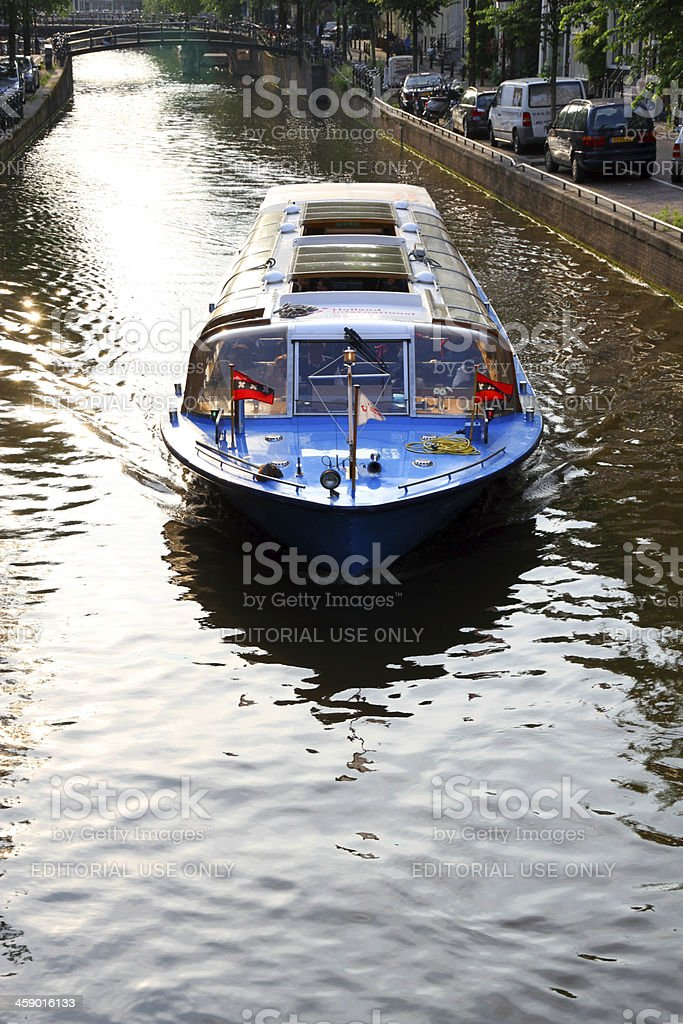 Canal in the Morning royalty-free stock photo
