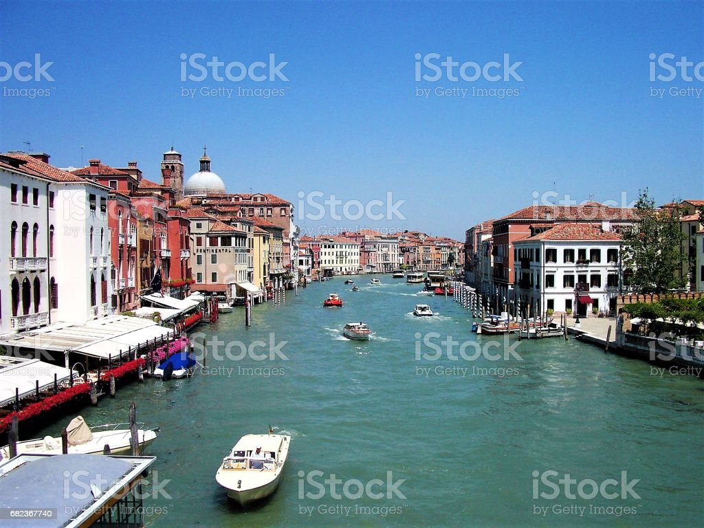 Canal in Venice, Italy royalty free stockfoto