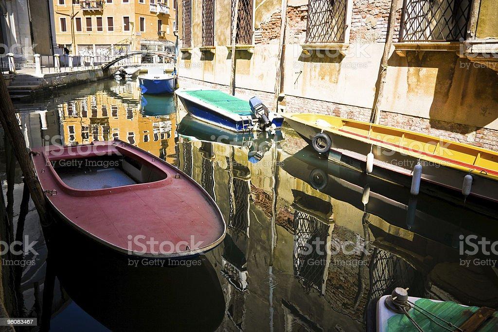 Canale di Venezia foto stock royalty-free