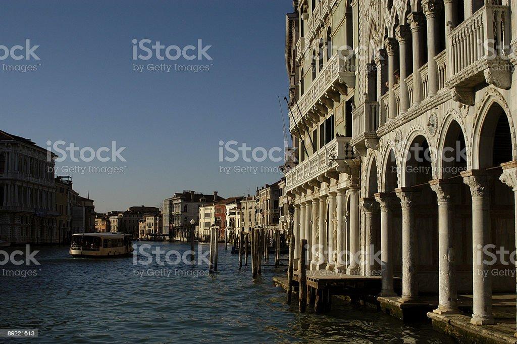 Canal in Venice - Venezia stock photo