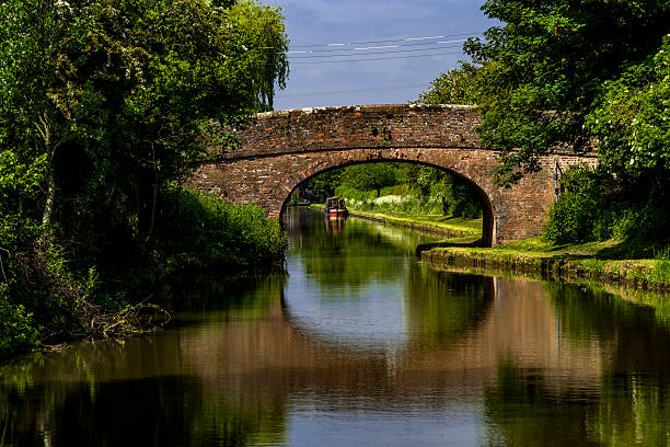 canal canal astwood worcestershire uk canal stock pictures, royalty-free photos & images