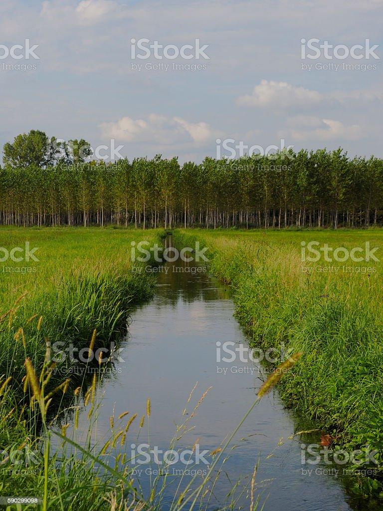 Канал  Стоковые фото Стоковая фотография