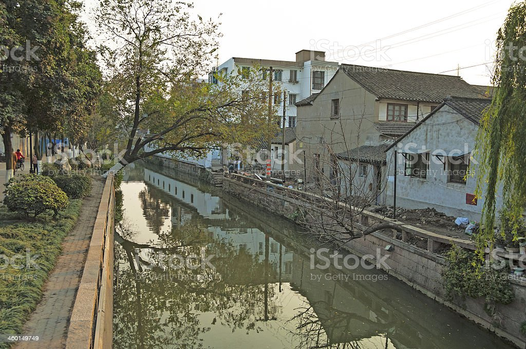 Canal Views royalty-free stock photo
