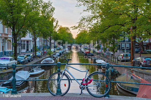 969439086 istock photo Canals of Amsterdam 1167343014