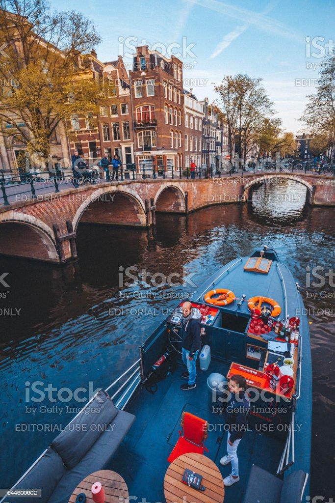 Amsterdamse grachten foto
