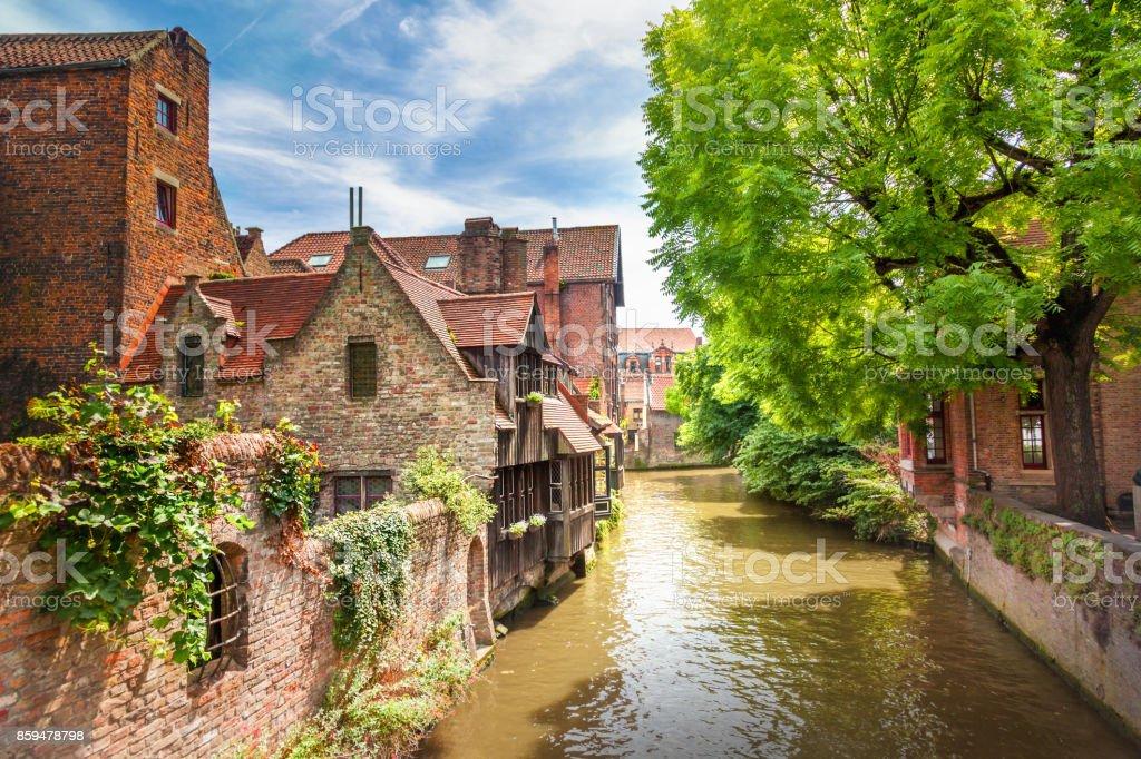 Canaux de Bruges, Belgique - Photo
