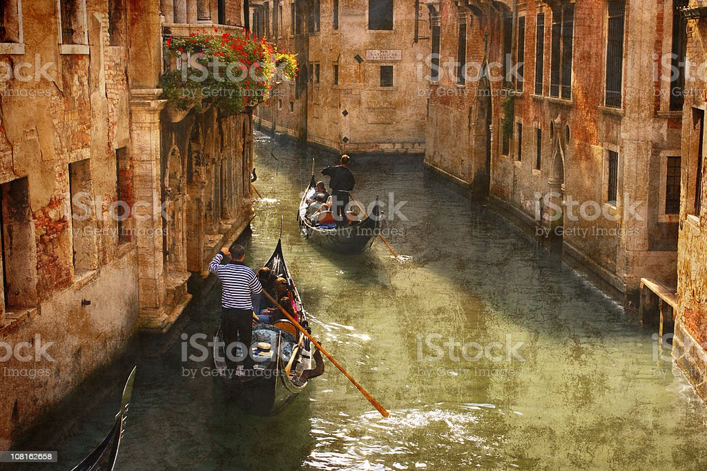Canals of Venice  Adult Stock Photo