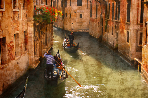 Canals Of Venice Stock Photo - Download Image Now