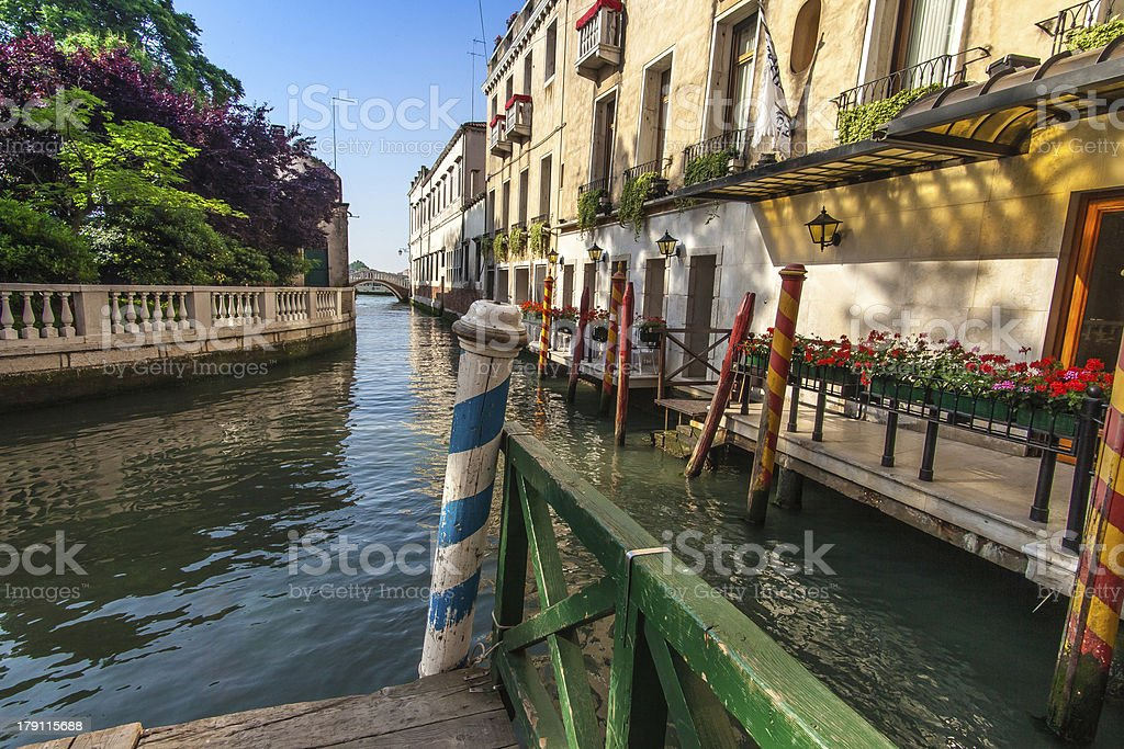 Canals of Venice royalty-free stock photo