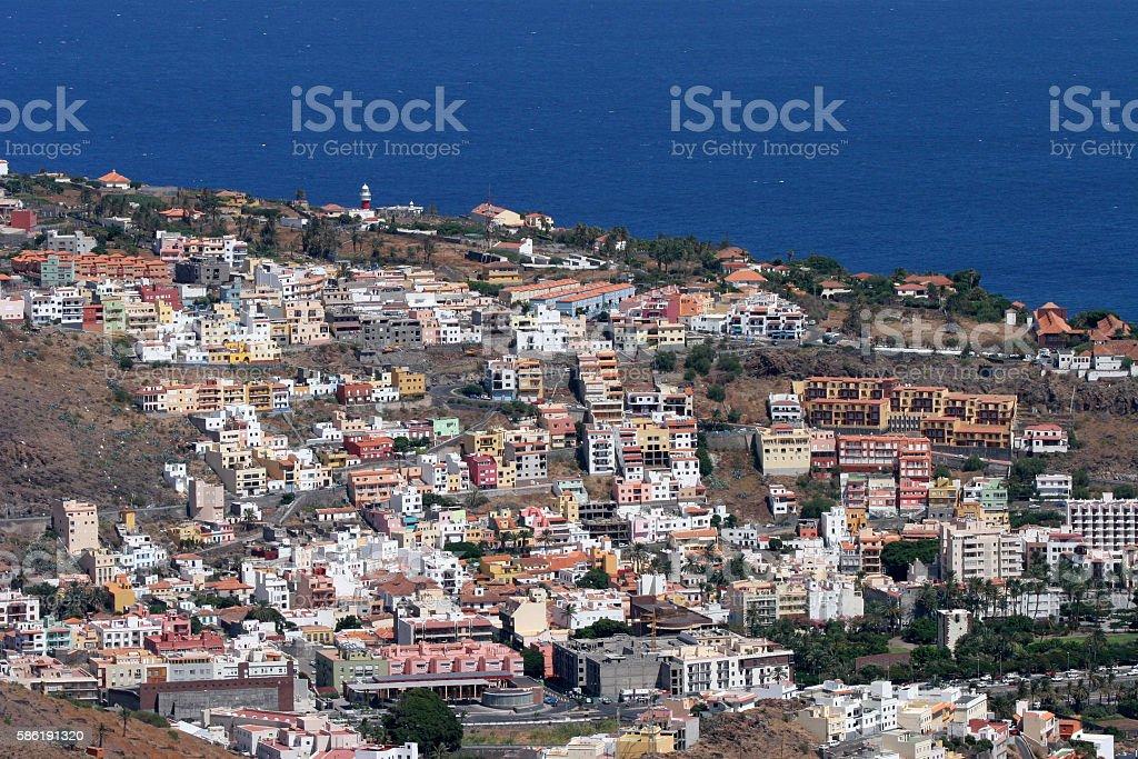 Canary Island of La Gomera stock photo
