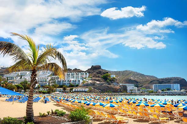 Canary resort, Puerto Rico-Playa - foto de stock
