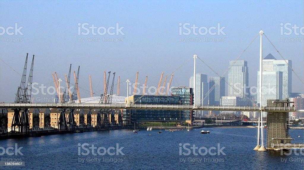 Canary Warf London royalty-free stock photo