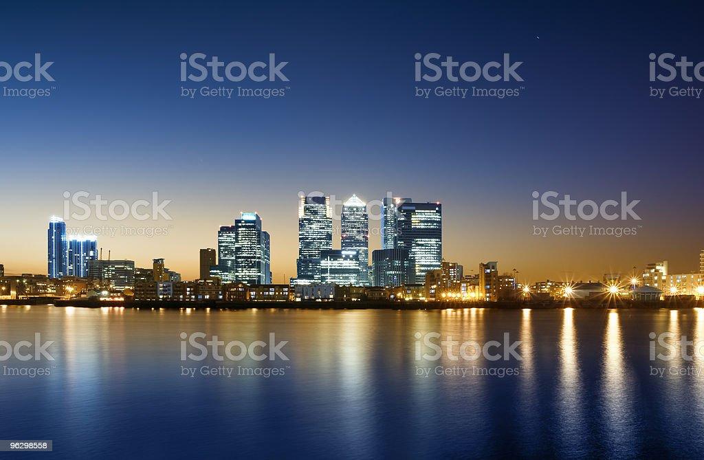 Canary Wharf, London. royalty-free stock photo