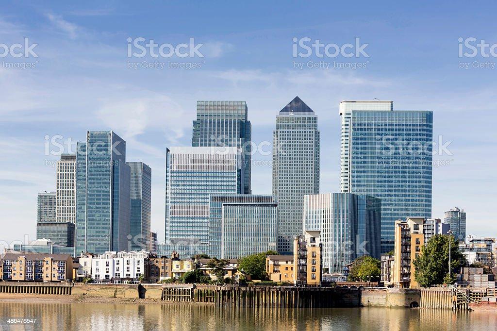 skyline von Canary Wharf – Foto