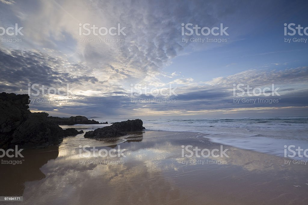Canavalle beach royalty-free stock photo