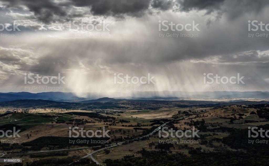 Canberra Landscape stock photo