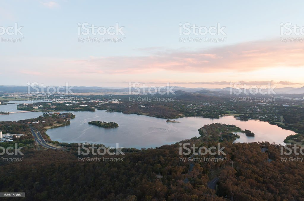 Canberra View stock photo