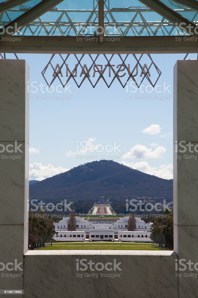 Canberra Views stock photo